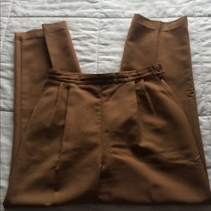 Camel brown vintage pants